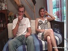 Amateur French couple having sex in front of our camera Thumb