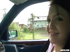Jolly babe is getting her pussy poked by a hung dick Thumb