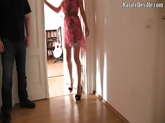 German amateur girl tortures her cuckold husband MDH deutsch Thumb