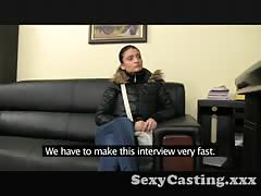 Casting Amazing body amateur in interview Thumb