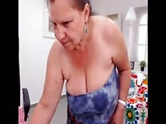 Amateur turkish granny dancing nude on web cam Thumb