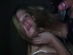 Filthy Whore Haverly begs for husbands friends big Cock Thumb