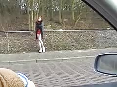 Ferry fucks a whore on the Tippelzone Den Haag Thumb
