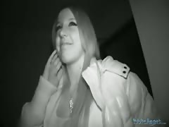Long-haired teenager teenager is fucking for cash in the video by Public Agent Thumb
