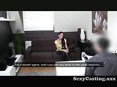 Casting -Cute Student loves the cock Thumb