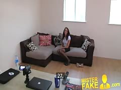 MisterFake Perfect british brunette gets deep creampie Thumb