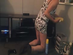 Slut Wife Upskirt Short Dress Thumb