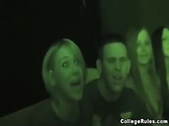 Wild sex party with three amazing college babes and their boyfriend Thumb
