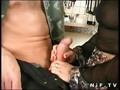 French mature gets anal fucked Thumb