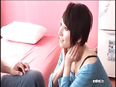 Amazing Asian girl with pleasure sucking cock in 69 position Thumb