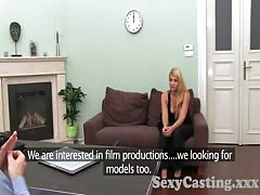 Casting HD Busty blonde looking for work Thumb