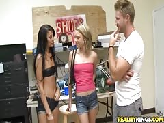 Innocent 18 yo slut being fucked in her little pussy Thumb