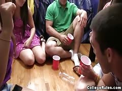 Drinking and sex games with naughty college babes Thumb