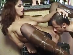 woman getting her pussy fisted in bar Thumb