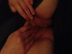 Wife teasing by playing with her self Thumb