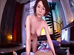 Hot Asian chick sucking dick and swallowing load of cum Thumb