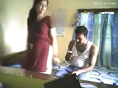 Bangla desi Muslim Bhabi LOVEs Hubby's Friend HiddenCam HQ Thumb