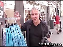 Horny casting agent looking for girls to fuck on the street Thumb