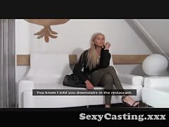 Casting - Anna Kournikova lookalike is an absolute nymph Thumb