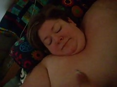 handjob facial SSBBW blonde wife MILF whore Thumb