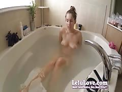 Lelu Love-Shaving Pussy Legs Armpits In Bath Thumb