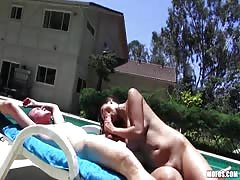 Sex party near the pool with my hot Asian gf with a perfectly shaved cunt Thumb