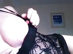 Horny Mature Plays With Her Pussy Thumb