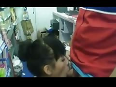 Store Clerk Gets A Blowjob At Work Thumb